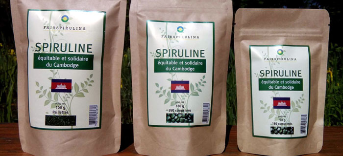 Spiruline Fairtrade Cambodge
