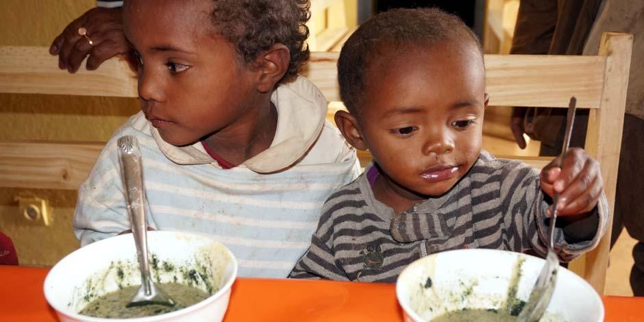 enfants malnutris mada