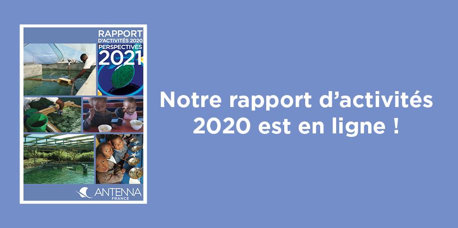 Consultez notre rapport d'activités 2020 : RDV dans nos actualités !