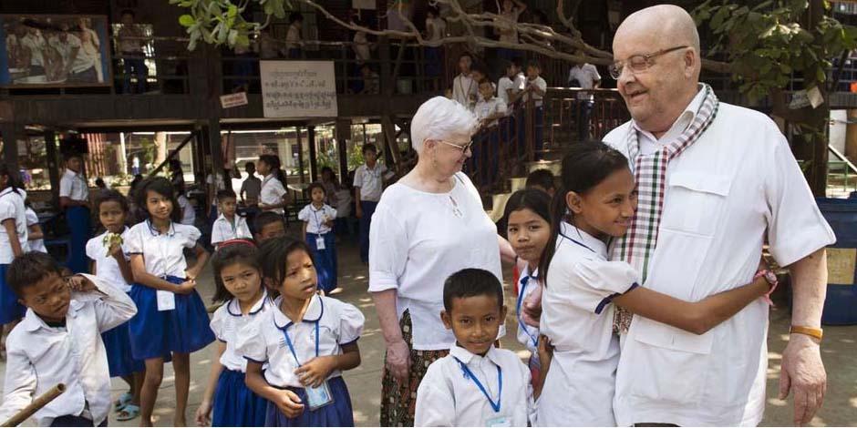 Christian des Pallières Fondateur de PSE Cambodge