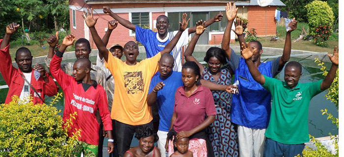 Ferme de spiruline du Togo