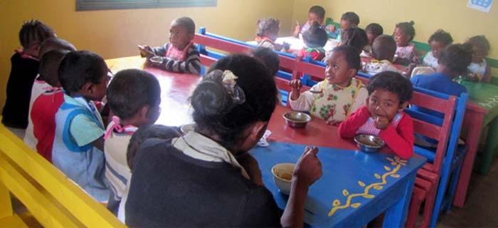 SOS Enfants soutient la Maison de la Nutrition