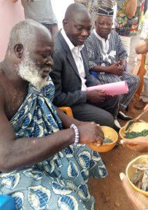 Togo vin de palme spiruline et poissons seches