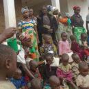 Distribution de spiruline au centre hospitalier Michel-Ange de Lukanga