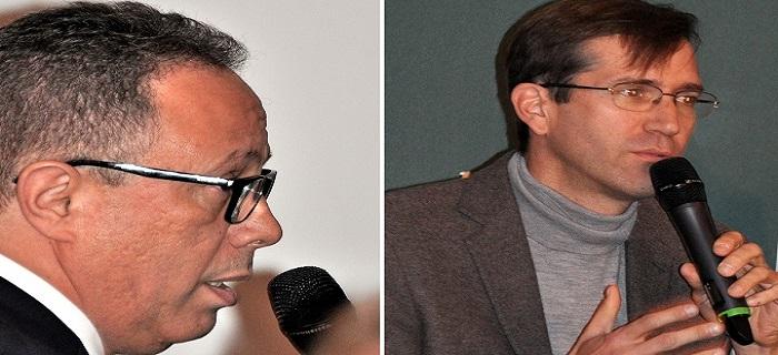 Monsieur Saad Bendorou et Julien Bello