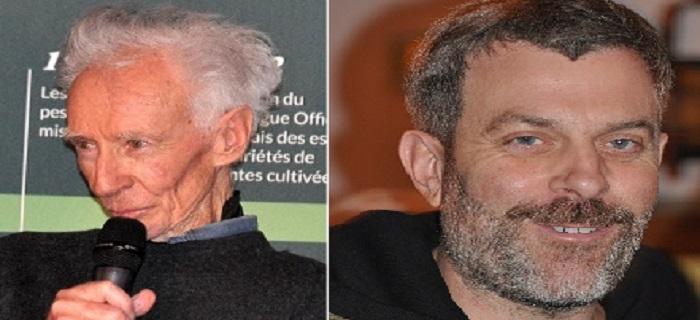 Denis von der Weid et Sébastien Couasnet
