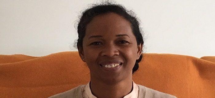 Photo du Docteur Josette Soa Rakotohery lors de sa visite à Paris en octobre 2019