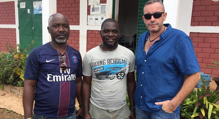 L'équipe de Razel-Bec : François, Charles et Fabien