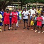 Préparation à l'entrainement - Agou - Togo - EcoSpiruline 2020