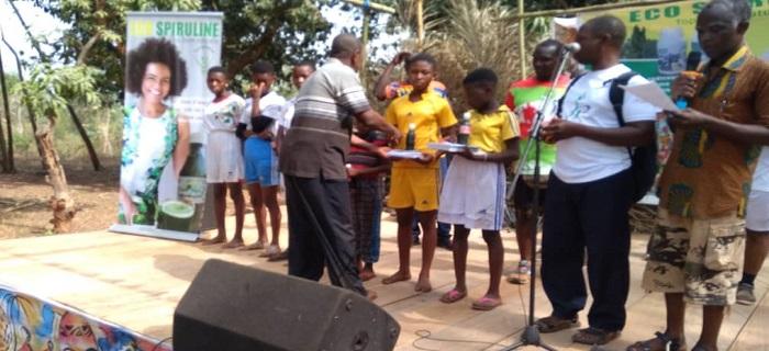 Sensibilisation nutrition - EcoSpiruline - Agou 2020 - Togo