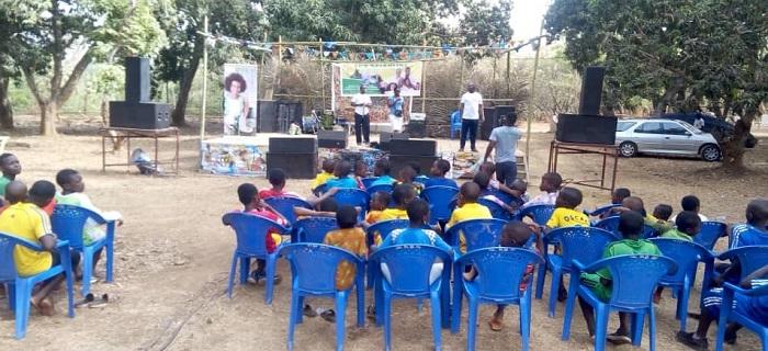 Sensibilisation Nutrition - Agou - Togo