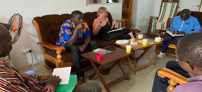 Réunion de Travail - Programme Sportif Agou - Togo 2020
